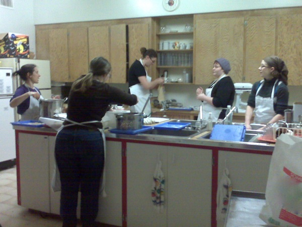 Our Collective Kitchen Group - The Lentil Ladies