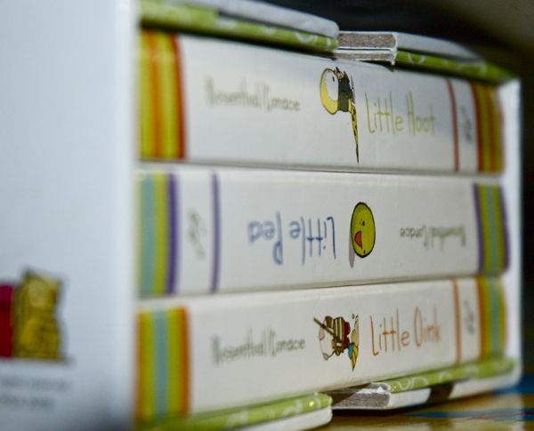 stubby little books, depth of field