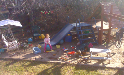 my parent's extensive play area