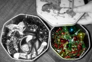 tins full of holiday cheer