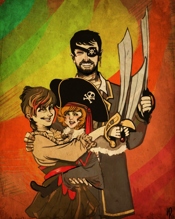 """Our Family Portrait - drawn by """"gravitiational tim"""""""