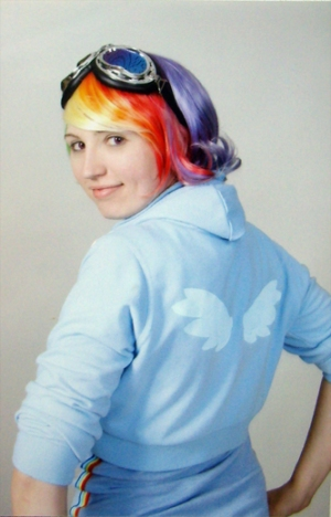 Rainbow Dash, FiM, cosplay