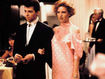 Pretty in Pink, at the prom