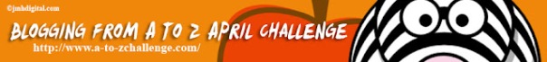 the april alphabet blog challenge