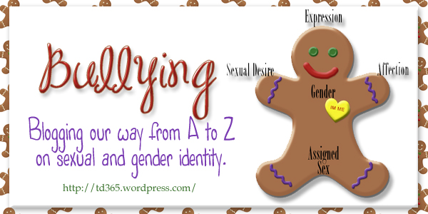 Blogging our way from A to Z on sexual and gender identity - Bullying