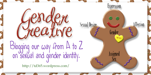 Blogging our way from A to Z on sexual and gender identity - Gender Creative