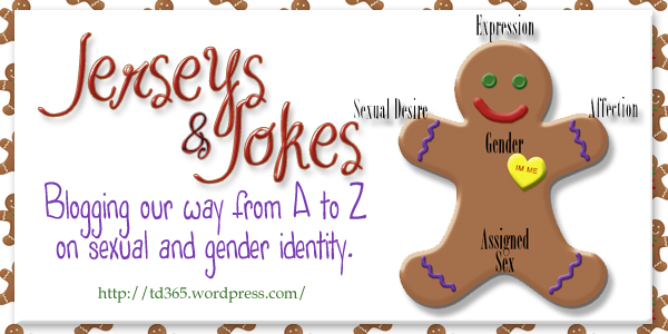 Blogging our way from A to Z on sexual and gender identity - Jerseys & Jokes