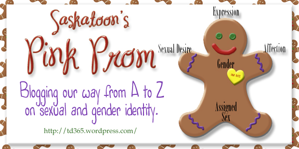 Blogging from A to Z on sexual and gender identity - Pink Prom