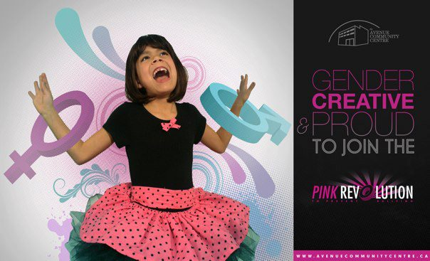 Gender Creative and Proud to be a part of the Pink Revolution