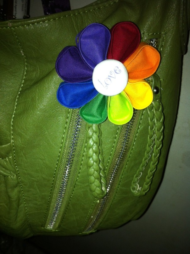 pride flower by dorothydesigns on etsy