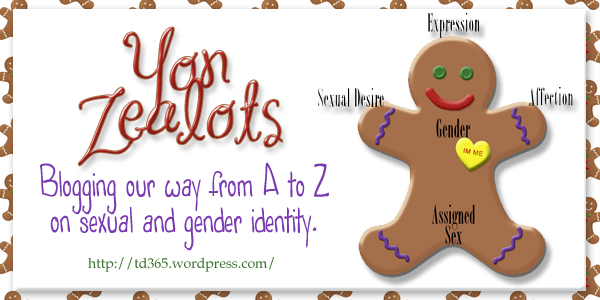 blogging our way from A to Z on sexual and gender identity - Yon Zealots