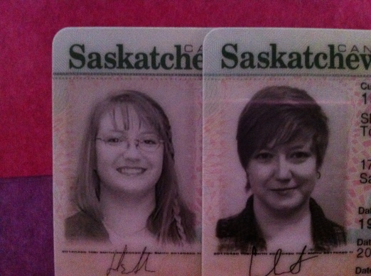 My Driver's License Photo - Old and New