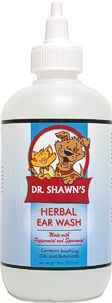 Dr. Shawn's Herbal Ear Wash - for pets AND people