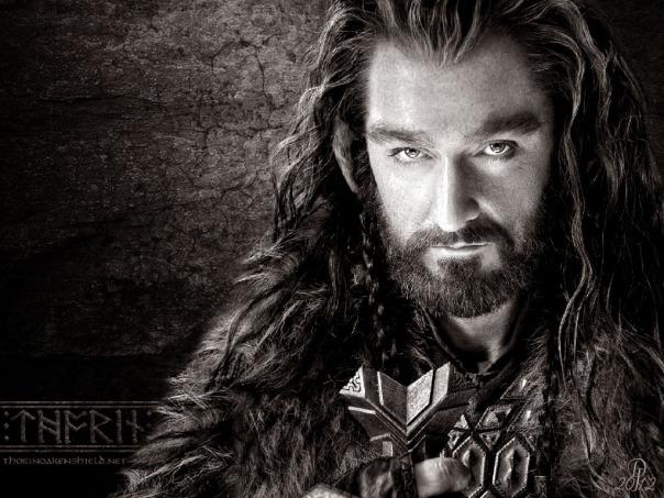a very non-dwarfish Thorin.