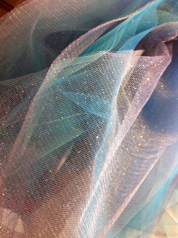 I really do love working with tulle.  Tutus are one of my very favourite things to sew.