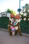 Big hugs for Chip and Dale!