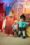 We didn't see Wreck-it Ralph (the movie) until AFTER our Disney trip - or I'd have been in there too.  LOVE Vanelope, one of my favourite princesses.  :D
