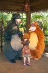 We were thrilled to see Baloo and King Louis.