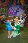 Lily-Ann was SOOO excited to meet the fairies she could barely speak.