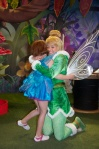 So Tinkerbell made sure to give her lots of hugs - which was really nice.