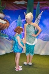 Periwinkle was happy to meet a water fairy - as frost fairies and water fairies often have to work together.  ;)