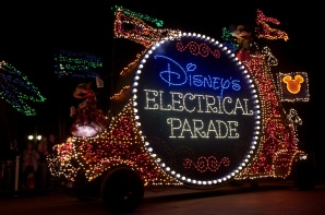 Disney's Mainstreet Electrical Parade - okay, not a fireworks show, but still AWESOME!