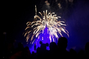 """Wishes"" at Disney's Magic Kingdom."