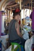 On Prince Charming's Carousel.